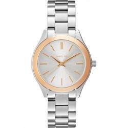 Michael Kors RUNWAY - Horloge - silver - roségold