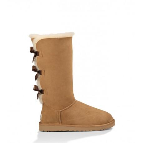 UGG Bruine hoge boots met veters