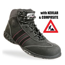 Safety Jogger zwarte bottines met kevlar